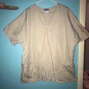 Cherokee XL scrub shirt